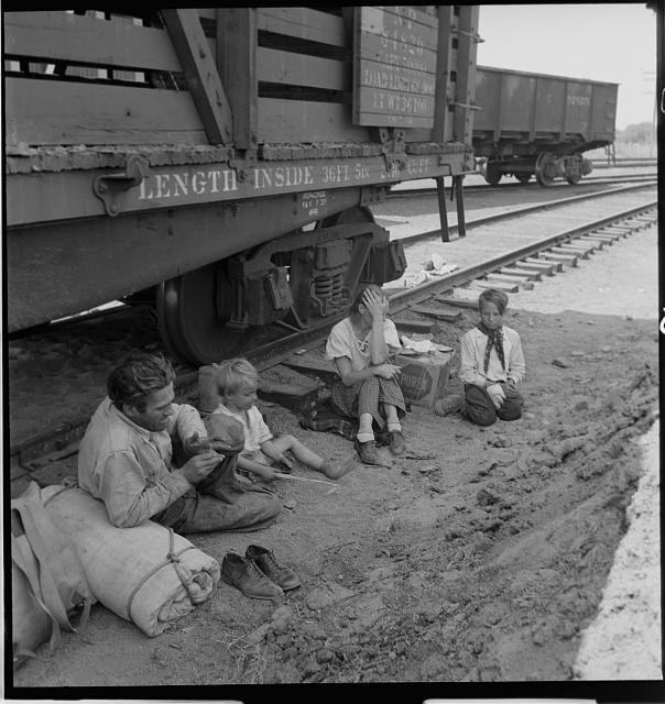 The Voices of Hopeless Children In The Land of Plenty  The Dust BowlDust Bowl Children